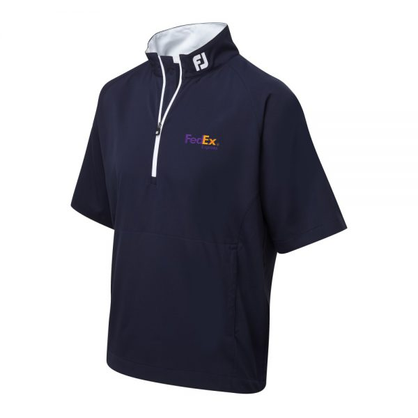 Fj footjoy gents lambswool v neck pullover best for Corporate logo golf shirts