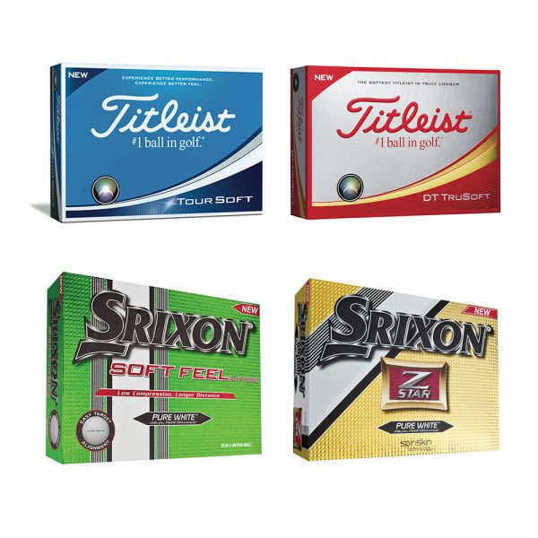 Logo & Personalised golf balls